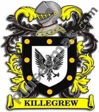Escudo del apellido Killegrew