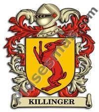 Escudo del apellido Killinger
