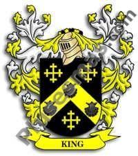 Escudo del apellido King