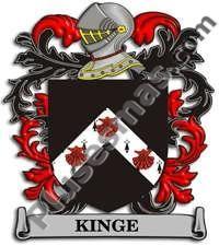 Escudo del apellido Kinge
