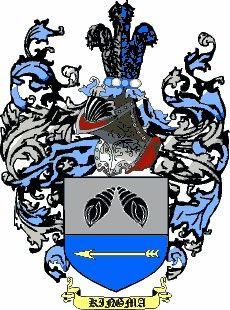 Escudo del apellido Kingma