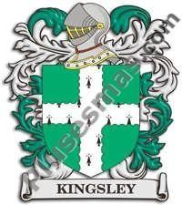 Escudo del apellido Kingsley