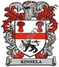 Escudo del apellido Kinsela