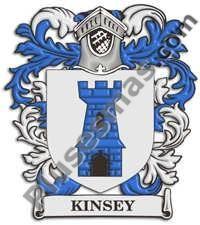Escudo del apellido Kinsey