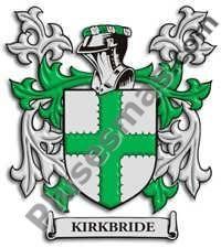 Escudo del apellido Kirkbride