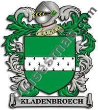 Escudo del apellido Kladenbroech