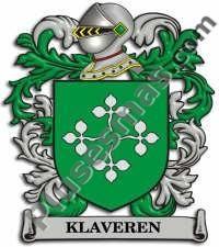 Escudo del apellido Klaveren