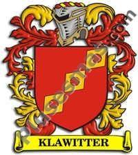 Escudo del apellido Klawitter