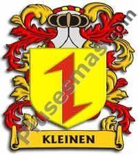 Escudo del apellido Kleinen