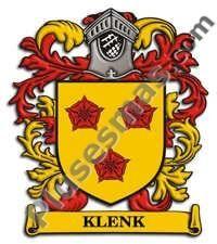 Escudo del apellido Klenk
