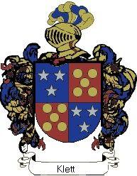 Escudo del apellido Klett