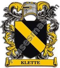 Escudo del apellido Klette