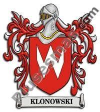 Escudo del apellido Klonowski