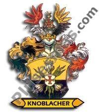 Escudo del apellido Knoblacher