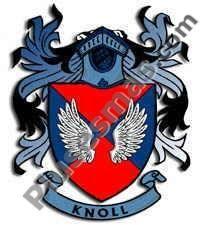 Escudo del apellido Knoll