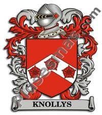 Escudo del apellido Knollys
