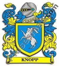 Escudo del apellido Knopp