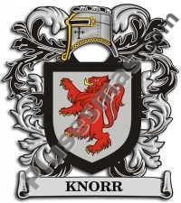Escudo del apellido Knorr