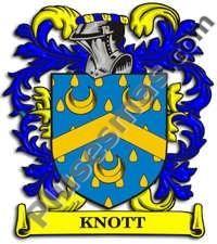 Escudo del apellido Knott
