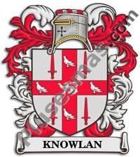 Escudo del apellido Knowlan