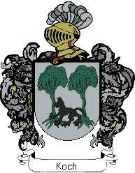 Escudo del apellido Koch