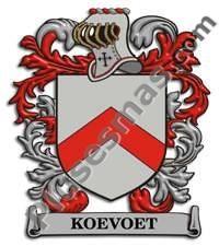 Escudo del apellido Koevoet