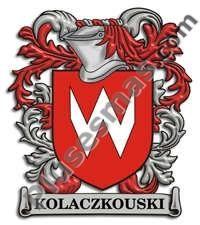 Escudo del apellido Kolaczkouski