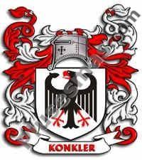 Escudo del apellido Konkler
