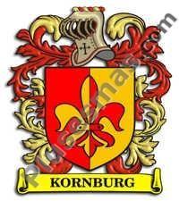 Escudo del apellido Kornburg