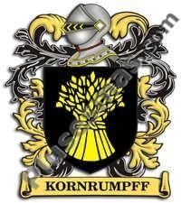 Escudo del apellido Kornrumpff