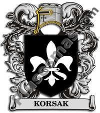 Escudo del apellido Korsak