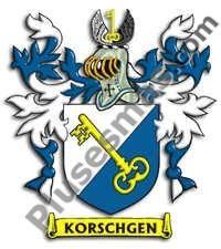 Escudo del apellido Korschgen