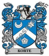 Escudo del apellido Korte