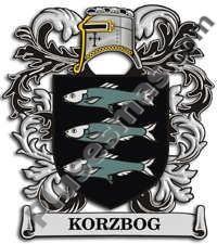 Escudo del apellido Korzbog