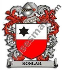 Escudo del apellido Koslar