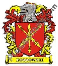 Escudo del apellido Kossowski