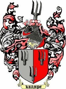 Escudo del apellido Krampe