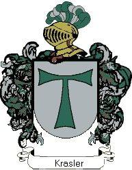 Escudo del apellido Krasler