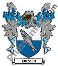 Escudo del apellido Kressen