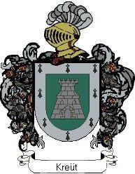 Escudo del apellido Kreüt