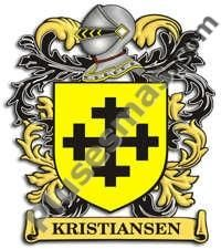 Escudo del apellido Kristiansen