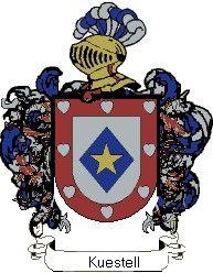 Escudo del apellido Kuestell