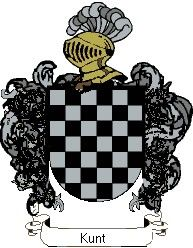 Escudo del apellido Kunt