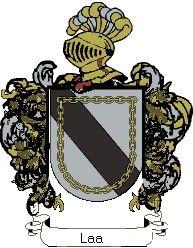 Escudo del apellido Laa