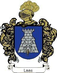 Escudo del apellido Laas