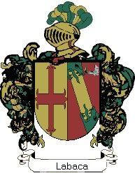 Escudo del apellido Labaca