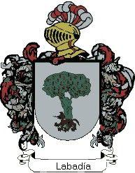 Escudo del apellido Labadía