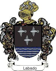 Escudo del apellido Labado