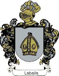 Escudo del apellido Labaila