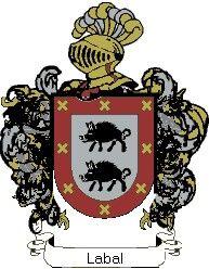 Escudo del apellido Labal